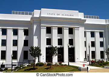 Alabama State Offices - Office building of the attorney...