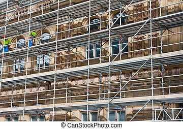 building construction - Repairing of a old building and...