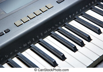 electronic piano keyboard(part)