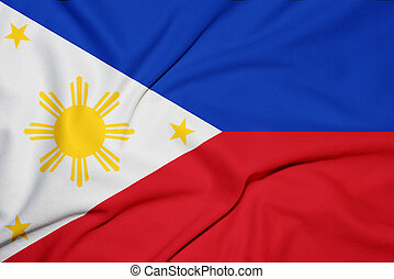 philippines flag background