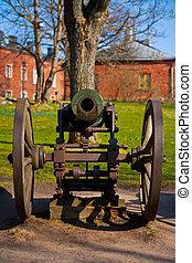 canhão, antigas