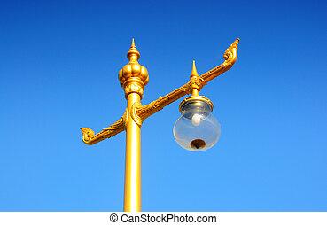 Thai lamp light bulb