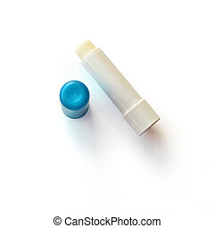 Lip Balm - Lip balm on a white background with shadow