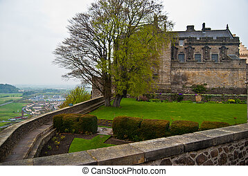Stirling Castle - part of the famous Stirling Castle in...