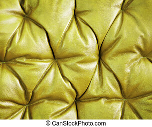Luxury golden leather close-up background