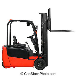 Forklift from my warehouse equipment series