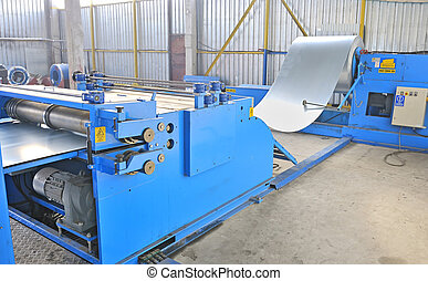 machine for rolling steel sheet