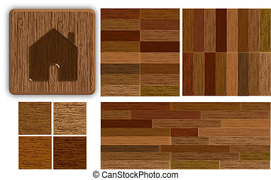Set backgrounds parquet