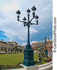 Oldstyle lamppost