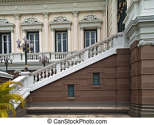 Classic style stair