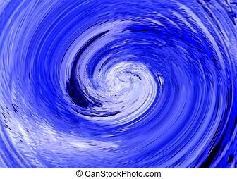 ABSTRACT BACKGROUND - An abstract image consisting of blue...