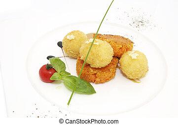 zanahoria, Croquetas