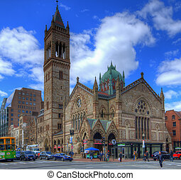 Old South Church - BOSTON - APRIL 7: Old South Church April...