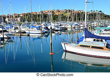 Sea Sport - Sailing - Yachts and boats in the harbor...