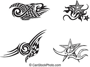 Racing and Star Designs