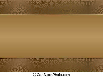 brown background with copy space