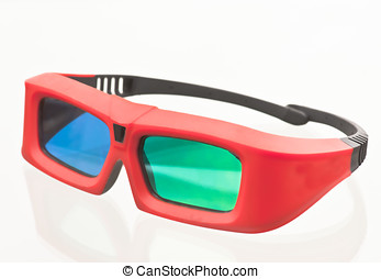 3-D glasses, XPand system. One of the three technologies...