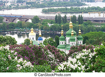 Vydubitskiy monastery its a monastery complex situated on...