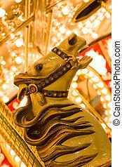 State Fair - State fair carousel ride