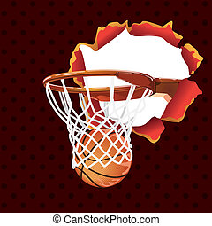 basketball poster-banner