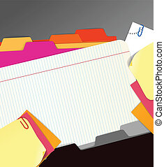 Background of paper stuff