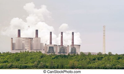 Power station - Coal power station in Germany