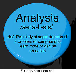 Analysis Definition Button Showing Probing Study Or...
