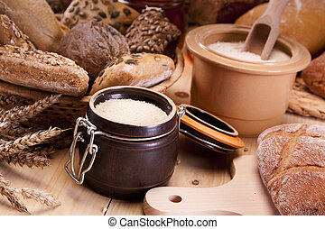 Baking bread and loafs, and other specials. Studio shots!