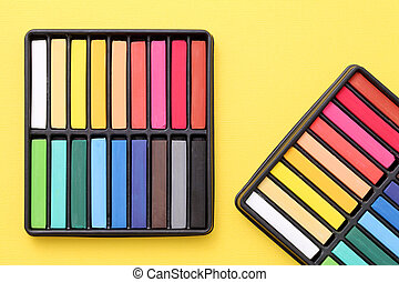 Colorful crayons - Set of colorful crayons