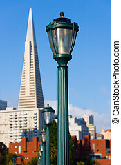 Lamp post in San Francisco