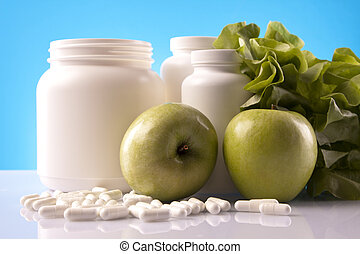 Food supplements, healthy diet