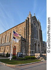 Methodist church - Beautiful rock architecture of First...