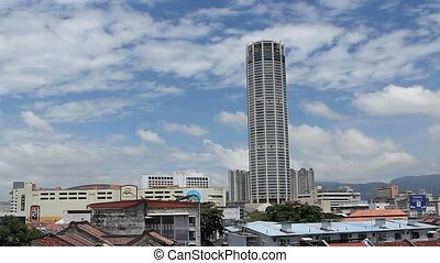 Komtar Tower, or Menara Komtar Complex is Penang's tallest...