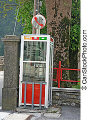 public payphone to call friends  without using the mobile phone