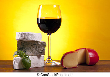 Cheese and wine composition - Cheese composition