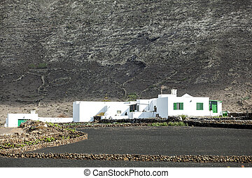 old farmouse in Lanzarote