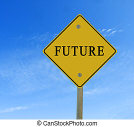 Road sign to future