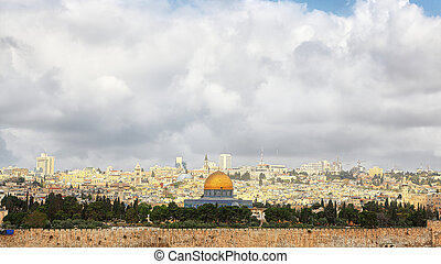 Panorama of Jerusalem