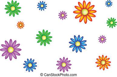 Texture daisies