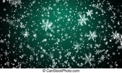 Winter snow background - Christmas background with...