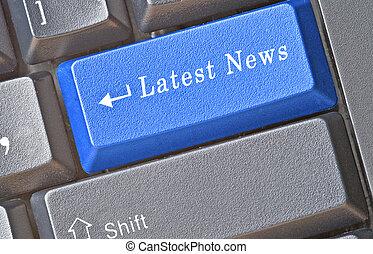 Hot keys for latest news