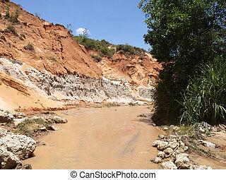 Fairy stream Muine, Vietnam