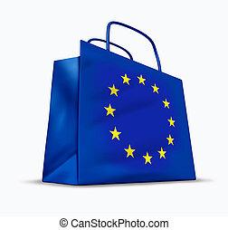 europeo, economía