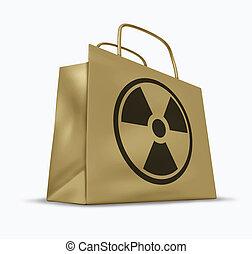 radioactivo, comestibles