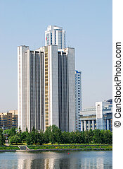 government building in Yekaterinburg, Russia - Government...