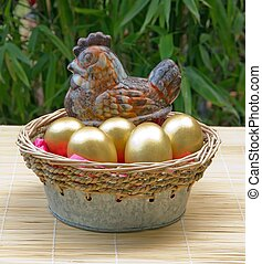 goose and golden eggs - goose that lays golden eggs