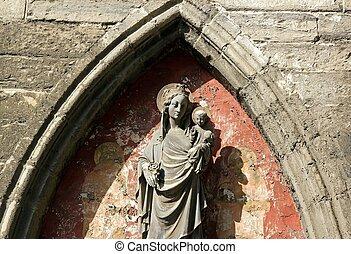 virgin to Christ Child  (Gent Belgium)