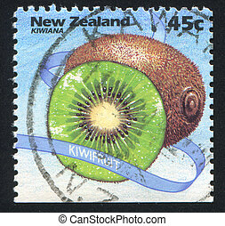 Kiwi - NEW ZEALAND - CIRCA 1994: stamp printed by New...