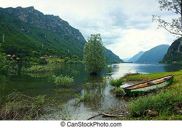 Landscape Lake Endine