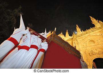 Semana Santa in Salamanca, Spain